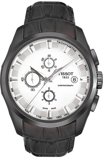 Часы Tissot Couturier Automatic, белый циферблат
