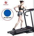 500W Electric Motorized Treadmill Portable Folding Running Fitness w/Free Gift
