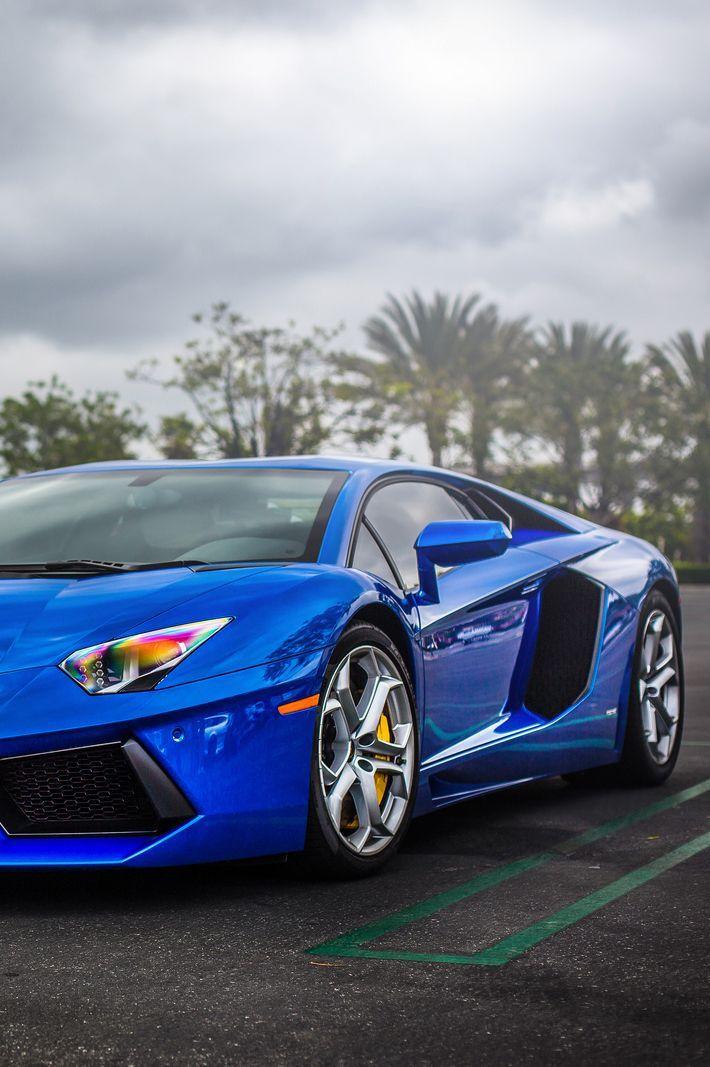Aventador Blue