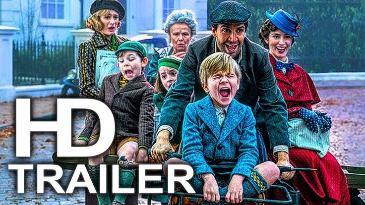 MARY POPPINS RETURNS Trailer #1 NEW (2018) Emily Blunt, Disney Movie HD - YouTube