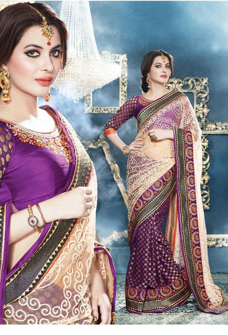 #Designer #silk #Saree