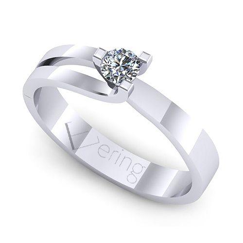 Inel logodna L102ADI cu diamante