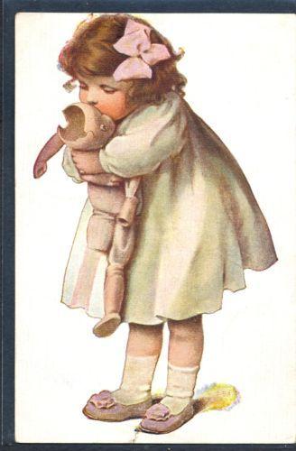 PY124-BESSIE-PEASE-GUTMAN-Cute-GIRL-BROKEN-DOLL-RUSSIAN-Publisher
