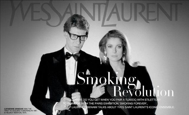 """New Blog Post: """"Se Chanel ha liberato la donna, Saint Laurent le ha conferito il potere."""" Pierre Bergé #shopping"""