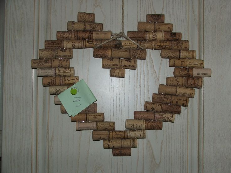 blackboard heart corks