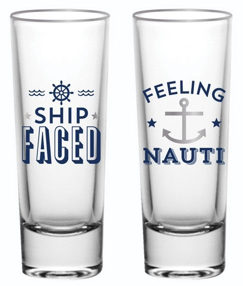 Let's Get Nauti Shot Glass Set