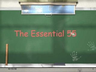 Ron Clarke's Essential 55 Rules  via Slideshare (beginning of year expectations)                                                                                                                                                                                 More
