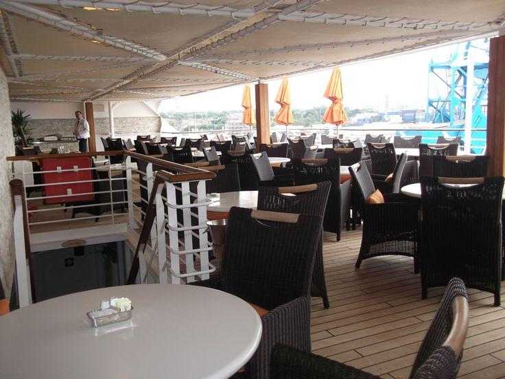 Oceania Cruises - Nautica, Outside Terrace Cafe