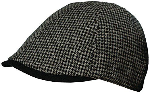 09e646aeea3c3 Polyester Ivy Cap with Stetson Jacquard Lining Grey M Review