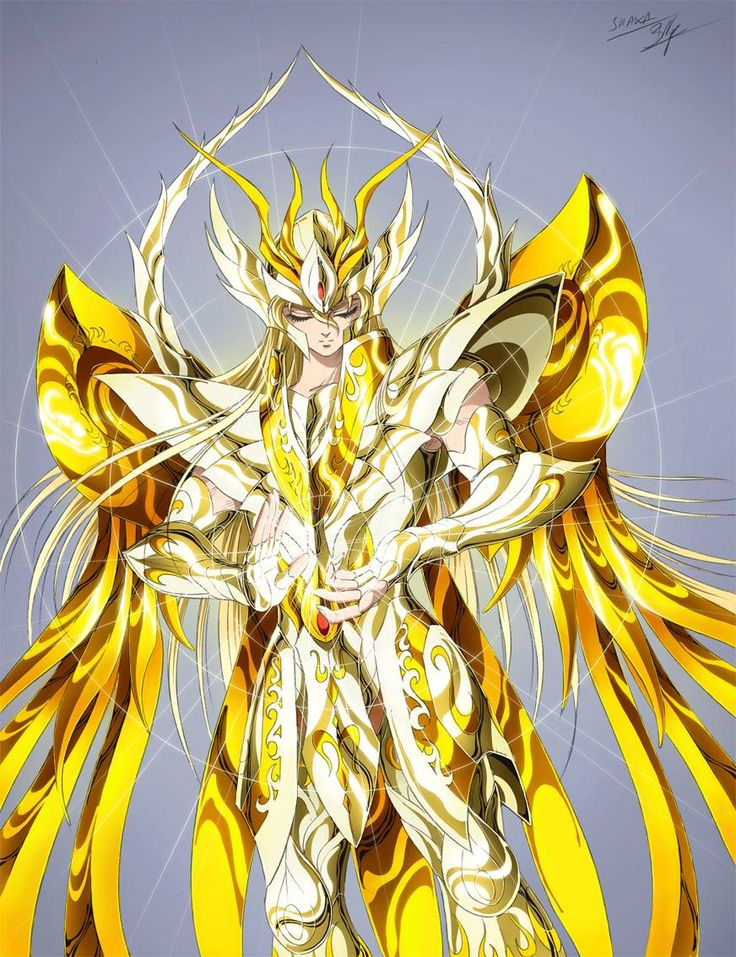 God Gold Saint Virgo Shaka, Saint Seiya Soul of Gold: Artwork by Spaceweaver