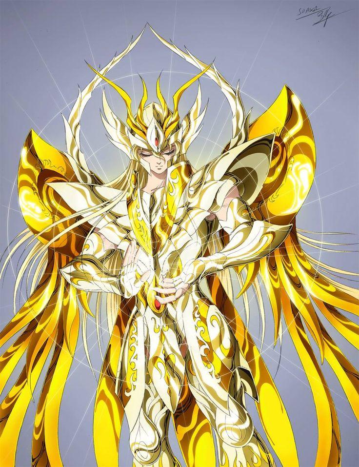 Gold Saint Virgo Shaka with Divine Cloth, Saint Seiya Soul of Gold: Artwork by Spaceweaver