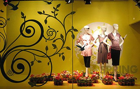 unique fall window displays | spring shop window display window display image by tsaiware via flickr