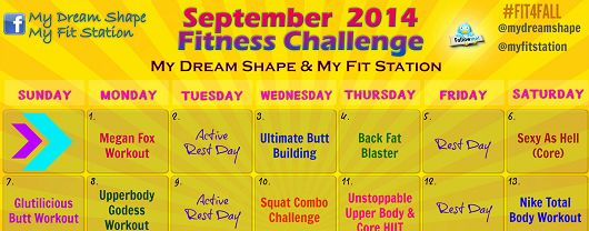 Fit 4 Fall: Your September Fitness Challenge !