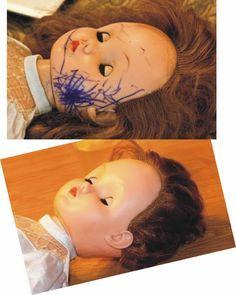 Mais uma dica que testei e deu certo   Como tirar Mofo ou Bolor de bonecas de pano?  dica de tirar o bolor foi dado no site da Flavia p...