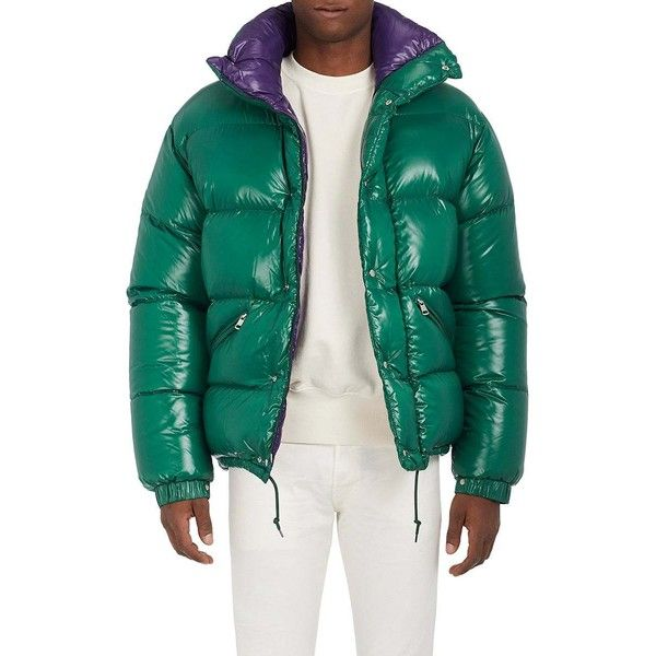 5904a6e067 Moncler Men's Oversized Tech-Taffeta Puffer Coat ($1,525) ❤ liked ...