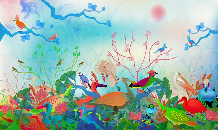 Birds of my landscapes #RevolutionartDesign