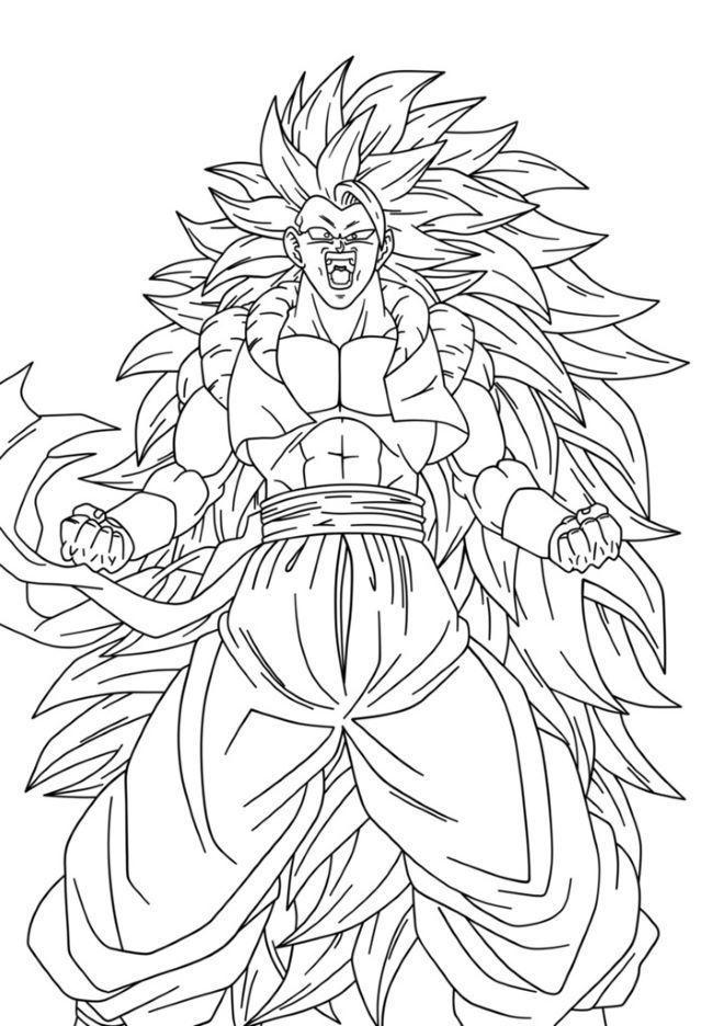 Coloriage De Dragon Ball Z