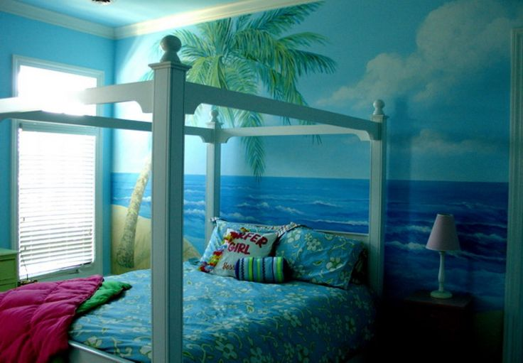 25 best ideas about teenage beach bedroom on pinterest beach dorm rooms coastal wall decor - Teen beach bedroom ideas ...