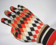Handschuhe aus altem Pullover