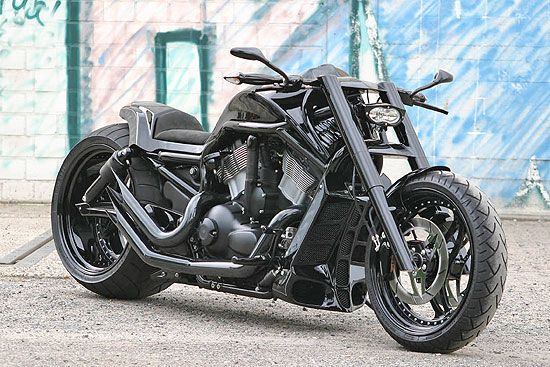 Harley-Davidson V-rod Muscle.  Normally more of a cruiser fan, but this absolutely rocks.