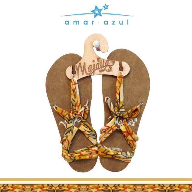 #Sandalias  3 puntas #verano #beachwear #amarazulswimwear