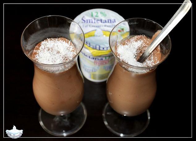 Mus czekoladowy - przepis na www.facebook.com/S.M.Bieluch #mus #czekolada #deser