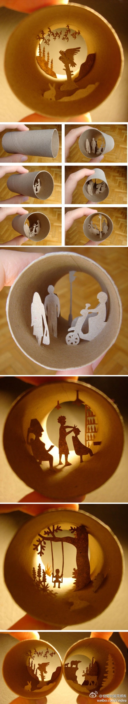 Amazing!: Crafts Ideas, Toilets Paper Rolls, Crafty Things, Kids Crafts, Amazing Things, Artsy Ideas, Crafty Projects, Paper Crafts, Rolls Silhouette