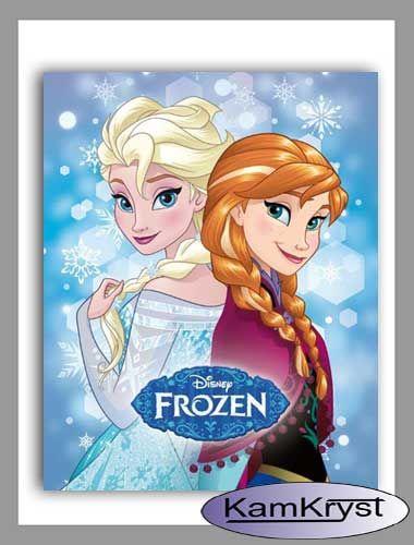 Kraina Lodu Frozen - kocyk dziecięcy z postaciami baśni filmowej Disney - najnowsza kolekcja firmy Carbotex