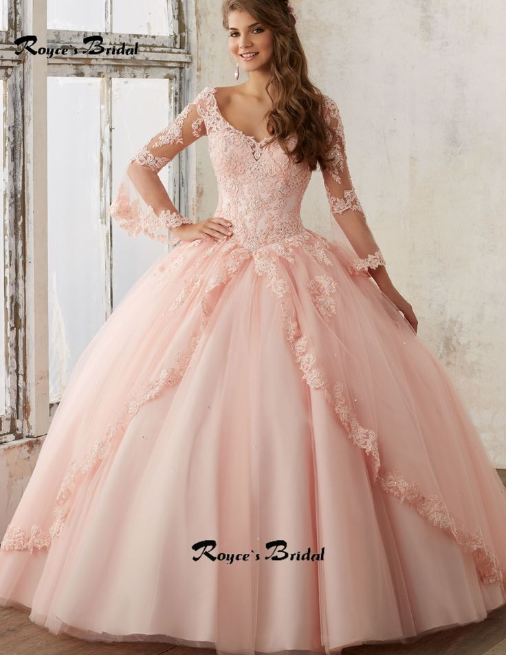 34 best Quinceanera Dresses images on Pinterest | Gown, Prom party ...