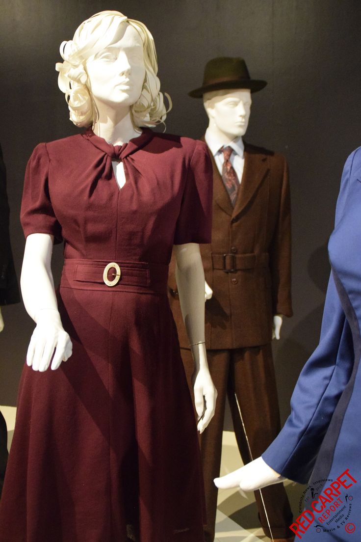 Agent Carter at the Outstanding Art of Television Costume Design Exhibition