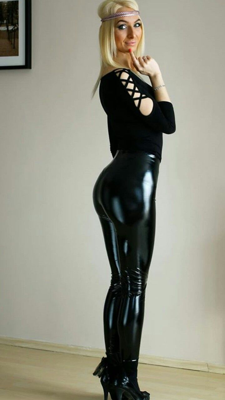 205e35510a16db Pin af Tyd på Wet look | Latex pants, Leather pants og Leather leggings