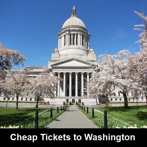 buy cheap tickets to Washington