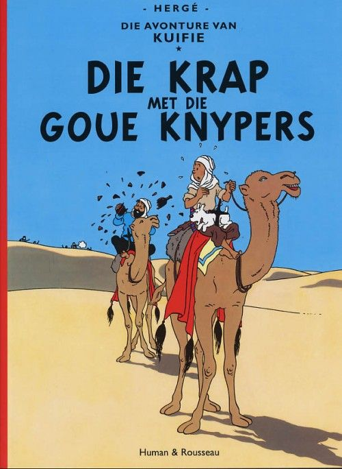 Couverture de Tintin (en langues étrangères) -9Afrikaans- Die Krap met die Goue Knypers