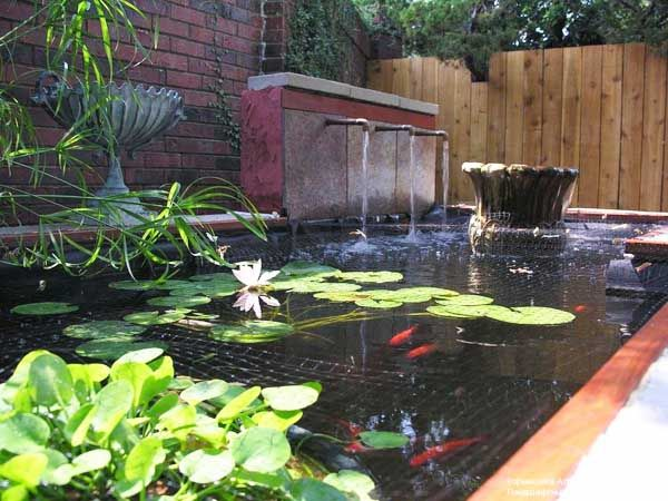 21 garden design ideas small ponds turning your backyard for Fish pond waterfall ideas