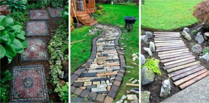 24 magnifiques allées de jardin qui subliment les coins de verdure