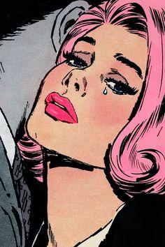 Las imágenes de cultura popular para el Pop Art podían tomarse de medios de comunicación o historietas.