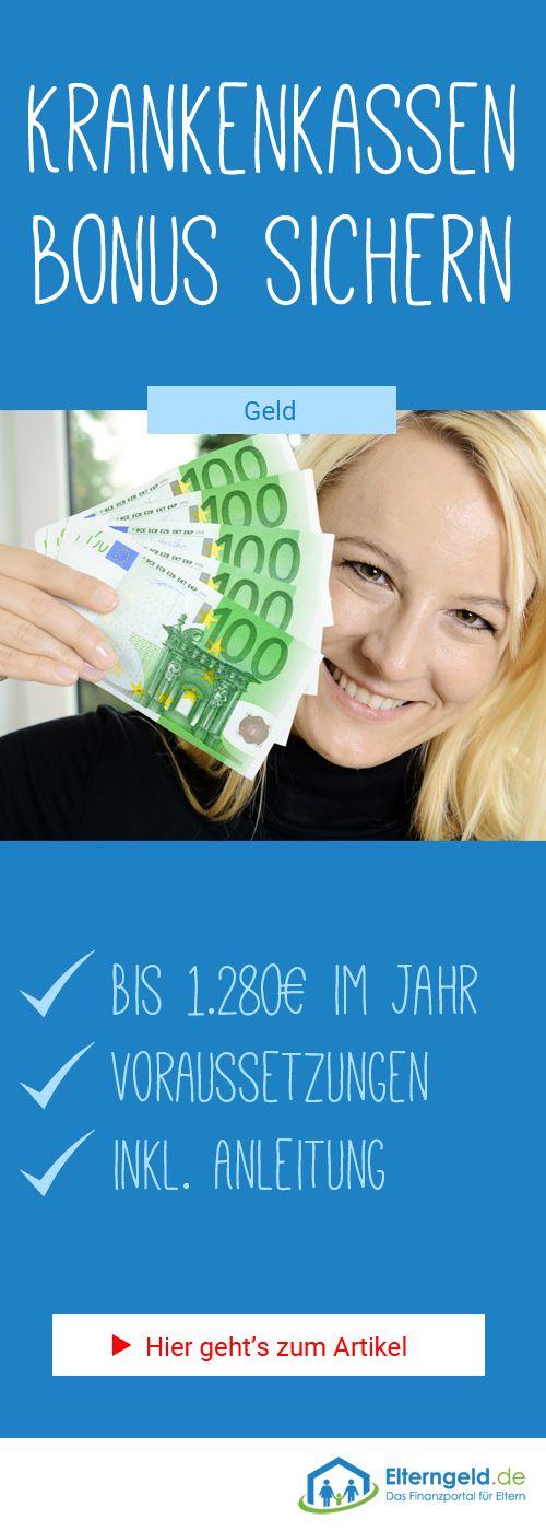 ᐅ Krankenkassen Bonus: Bis 1.280€ jährlich sichern!