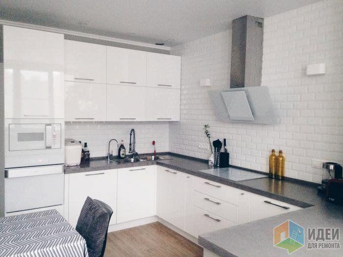 """Квартира в """"смелом сером"""" (и белом-белом-белом). Кухонные обновления."""