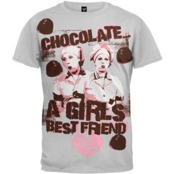 I Love Lucy: Il Cioccolato Fa E Donne Maglia Con Cappuccio nnpANjY