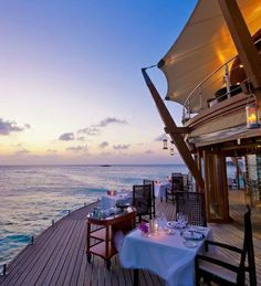 #BucketList ~ dining ocean-side at Mango, Four Seasons Resort Nevis, West Indies. (The DailyMeal named it one of the 21 best beach restaurants in the world!)