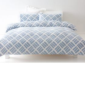 Blake Quilt Cover Set - Queen Bed