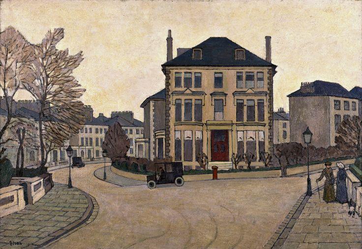 Belsize Park (1917) - Robert Bevan
