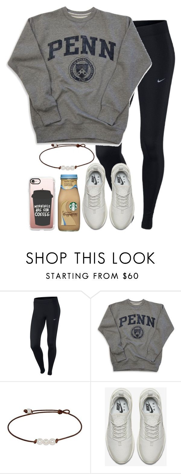 """{The ABC Tag}"" by star-lit-fashion ❤ liked on Polyvore featuring NIKE, Casetify and PBdoestags"