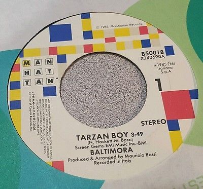 Baltimora ‎– Tarzan Boy / Tarzan Boy (Dub Version)