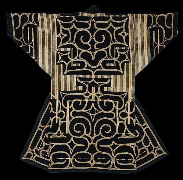 Japanese ( Ainu) kimono.
