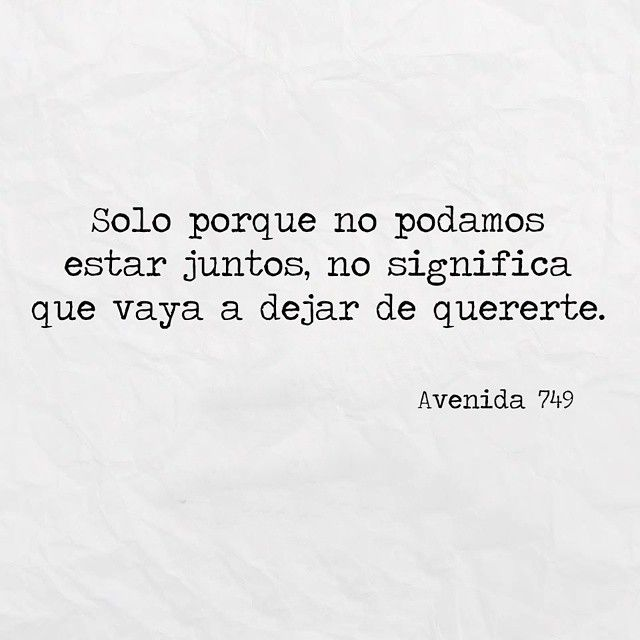 "47 Likes, 1 Comments - Avenida 749 (@avenida749) on Instagram: ""#frases #avenida749"""