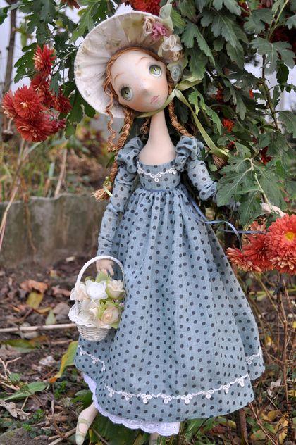 Коллекционные куклы ручной работы. Ярмарка Мастеров - ручная работа Лиза. Handmade.