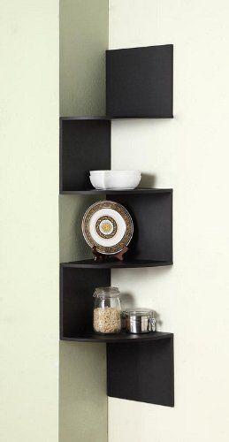 I Like This Idea As A Small Corner Shelf Idea.