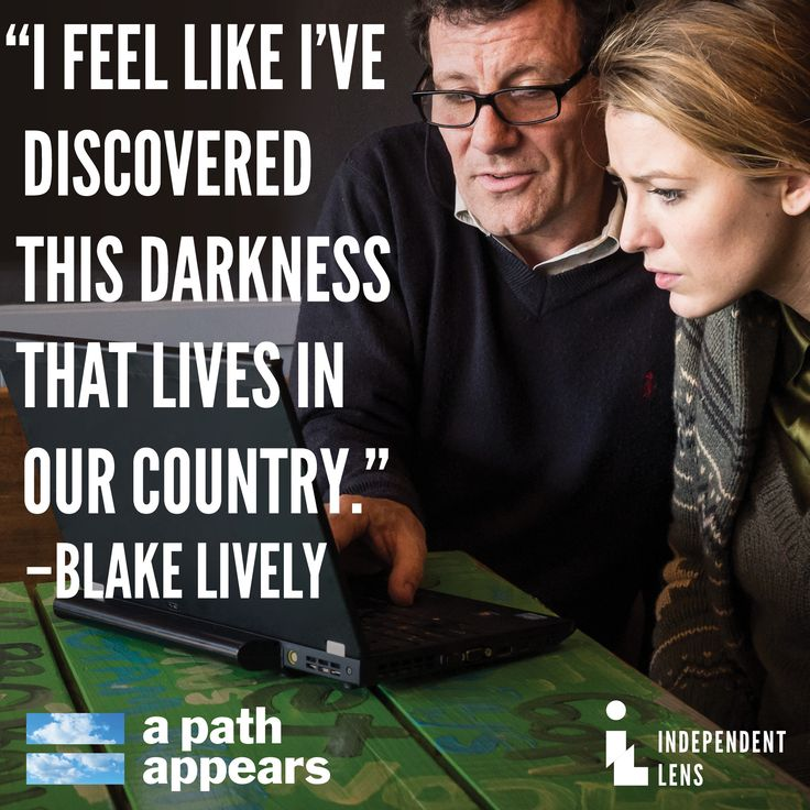 "See Blake Lively on ""A Path Appears,"" as she and others uncover gender oppression and human rights violations in the U.S. and around the world. (Via INDEPENDENT LENS)"
