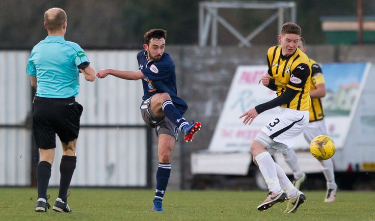 Queen's Park's Anton Brady in action during the Ladbrokes League One game between East Fife and Queen's Park.